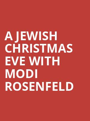 A Jewish Christmas Eve with Modi Rosenfeld at Caroline's Comedy Club