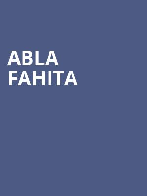 Abla Fahita at Apollo Theater