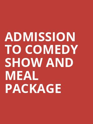 Admission to Comedy Show and Meal Package at Mccarter Theatre Center