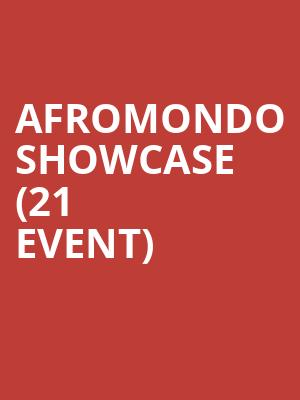 Afromondo Showcase (21+ Event) at S.O.B.S