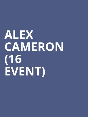 Alex Cameron (16+ Event) at Webster Hall