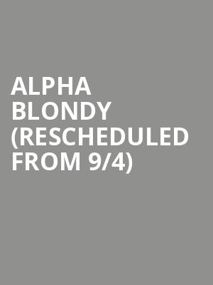 Alpha Blondy (Rescheduled from 9/4) at Sony Hall