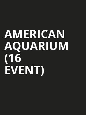 American Aquarium (16+ Event) at Gramercy Theatre