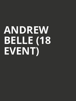 Andrew Belle (18+ Event) at Bowery Ballroom