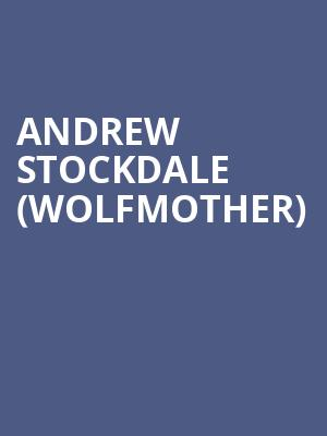 Andrew Stockdale (Wolfmother) at The Producers Club