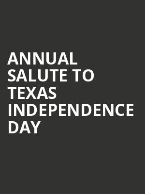 Annual Salute to Texas Independence Day at Terminal 5