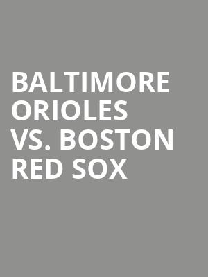 Baltimore%20Orioles%20vs.%20Boston%20Red%20Sox at 13th Street Repertory Theater
