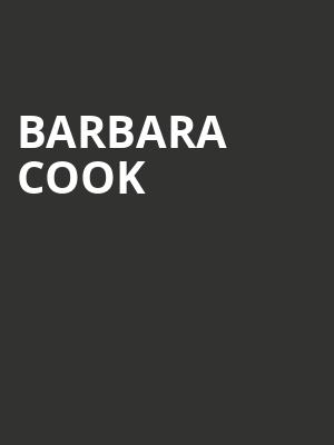 Barbara%20Cook at Town Hall Theater