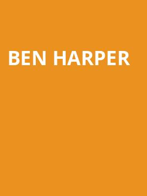 Ben Harper at Isaac Stern Auditorium