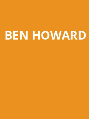 Ben Howard at Terminal 5