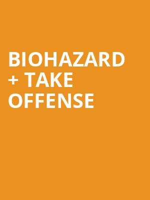 Biohazard %2B Take Offense at Concert Hall At Suny Purchase