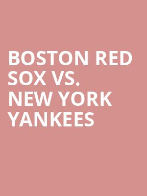 Boston%20Red%20Sox%20vs.%20New%20York%20Yankees at 13th Street Repertory Theater
