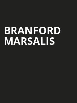 Branford Marsalis at Rose Theater