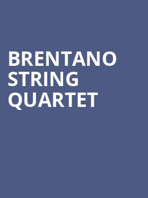 Brentano%20String%20Quartet at Judy & Arthur Zankel Hall