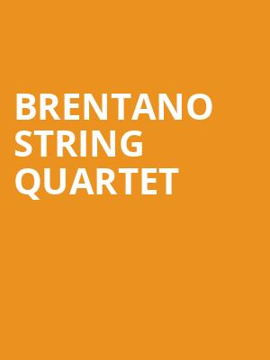Brentano String Quartet at Judy & Arthur Zankel Hall
