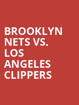 Brooklyn%20Nets%20vs.%20Los%20Angeles%20Clippers at Barclays Center