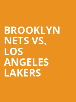 Brooklyn%20Nets%20vs.%20Los%20Angeles%20Lakers at Barclays Center