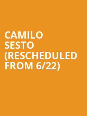 Camilo Sesto (Rescheduled from 6/22) at United Palace Theater