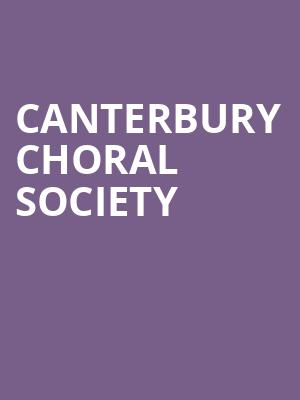 Canterbury Choral Society at Isaac Stern Auditorium