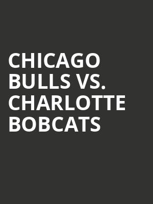 Chicago%20Bulls%20vs.%20Charlotte%20Bobcats at 13th Street Repertory Theater