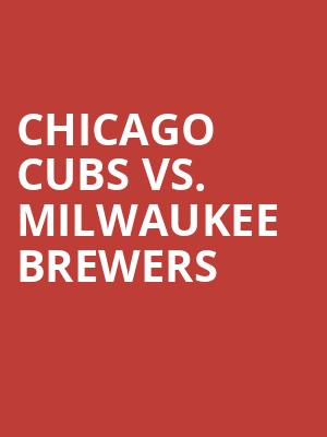 Chicago%20Cubs%20vs.%20Milwaukee%20Brewers at 13th Street Repertory Theater