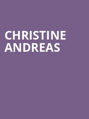 Christine Andreas at Bethel Woods Center For The Arts