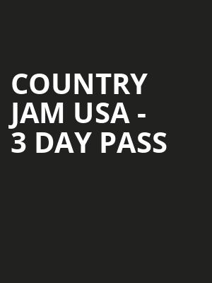 Country%20Jam%20USA%20-%203%20Day%20Pass at La MaMa Theater