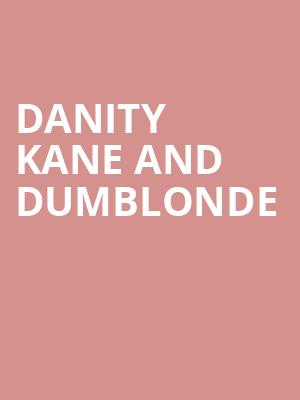Danity Kane and Dumblonde at Irving Plaza