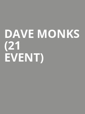 Dave Monks (21+ Event) at Berlin NYC