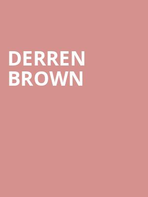 Derren Brown at Cort Theater