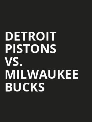 Detroit%20Pistons%20vs.%20Milwaukee%20Bucks at Theater for the New City