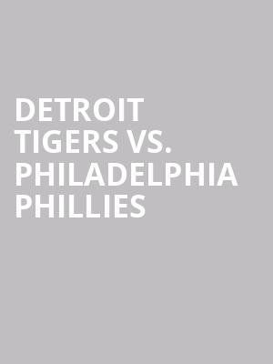 Detroit%20Tigers%20vs.%20Philadelphia%20Phillies at 13th Street Repertory Theater