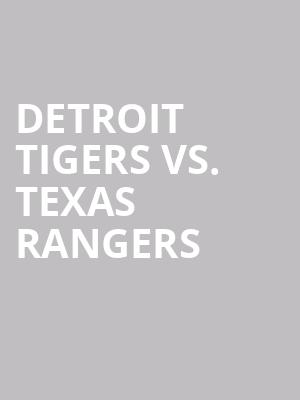 Detroit%20Tigers%20vs.%20Texas%20Rangers at Wings Theater