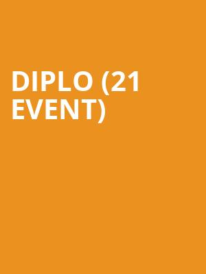 Diplo (21+ Event) at Brooklyn Mirage