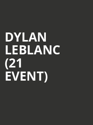 Dylan LeBlanc (21+ Event) at Bowery Ballroom