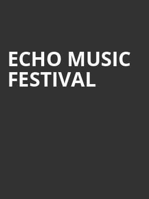 Echo Music Festival at Gramercy Theatre