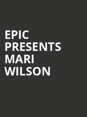 Epic Presents Mari Wilson at Bergen Performing Arts Center