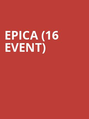 Epica (16+ Event) at Webster Hall