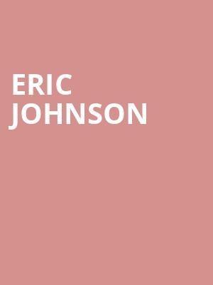 Eric Johnson at Tarrytown Music Hall