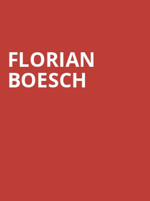 Florian Boesch at Joan & Sanford I. Weill Recital Hall