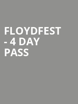 FloydFest%20-%204%20Day%20Pass at La MaMa Theater