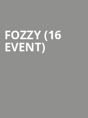 Fozzy (16+ Event) at Gramercy Theatre