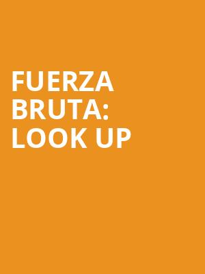 Fuerza%20Bruta:%20Look%20Up at Daryl Roth Theater