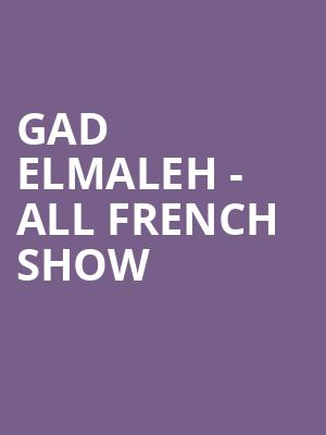 Gad%20Elmaleh%20-%20All%20French%20Show at New York City Winery