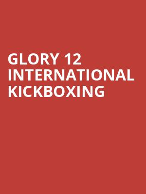 Glory%2012%20International%20Kickboxing at Theater at Madison Square Garden