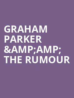 Graham Parker %26amp%3B The Rumour at Bergen Performing Arts Center