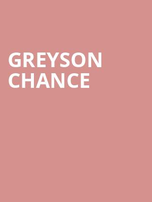 Greyson Chance at Sony Hall