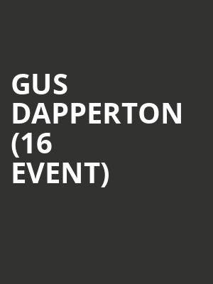 Gus Dapperton (16+ Event) at Webster Hall