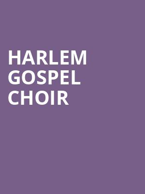 Harlem Gospel Choir at Sony Hall