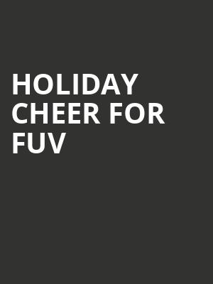 Holiday Cheer for FUV at Beacon Theater